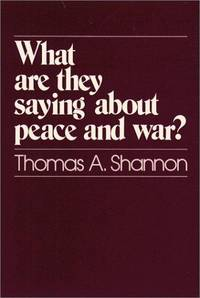 What Are They Saying about ... ?: What Are They Saying about Peace and War?