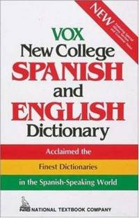 image of Vox New College Spanish and English Dictionary
