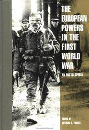 The European Powers in the First World War: An Encyclopedia by  Justin D. (Editor)  Laura Matysek (Editor)/ Murphy - First Edition - 1996 - from Revaluation Books (SKU: __0815303998)