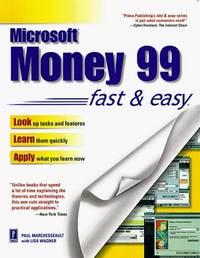 Microsoft Money 99 Fast & Easy