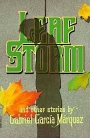 Leaf Storm (Harper Colophon Books).