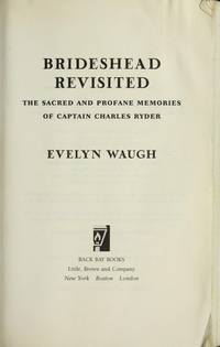 Brideshead Revisited: The Sacred and Profane Memories of Captain Charles Ryder by Evelyn Waugh - Paperback - from Discover Books (SKU: 3202033161)