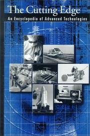 image of The Cutting Edge: An Encyclopedia of Advanced Technologies