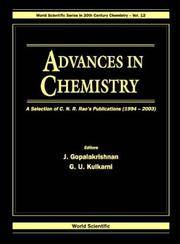 Advances in Chemistry