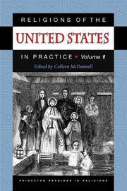 Religions of the United States in Practice. Volume I