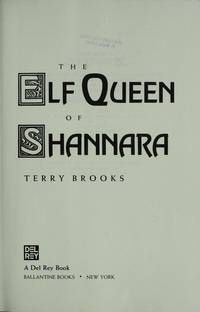 image of The Elf Queen of Shannara : **Signed**