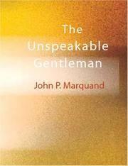 The Unspeakable Gentleman