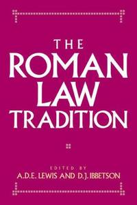 image of The Roman Law Tradition