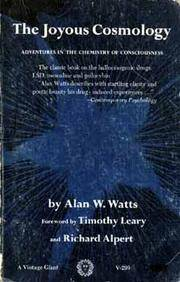 image of The Joyous Cosmology: Adventures in the Chemistry of Consciousness