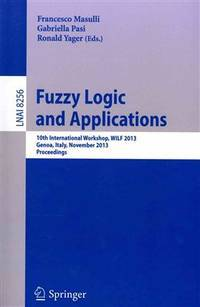 9783319031996 - Fuzzy Logic and Applications by FRANCESCO