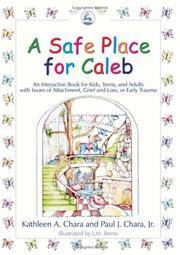 A Safe Place for Caleb: An Interactive Book for Kids, Teens and Adults with Issues of Attachment,...