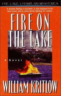 FIRE ON THE LAKE (Lake Champlain Mysteries)