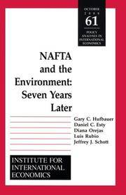 NAFTA and the Environnment : Seven Years Later