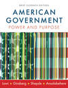 image of American Government: Power and Purpose (Brief Eleventh Edition)
