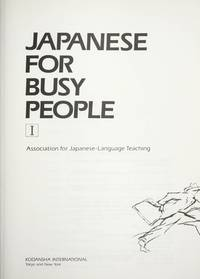 Japanese for Busy People.