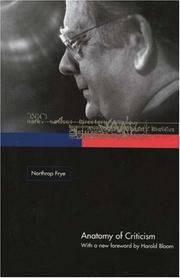 image of Anatomy of Criticism � Four Essays