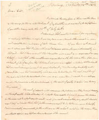 [AUTOGRAPH LETTER, SIGNED, FROM GEORGE K. TAYLOR TO BUSHROD WASHINGTON, CONCERNING A DISPUTE WITH THE GUARDIAN OF WASHINGTON'S BROTHER'S CHILDREN OVER THE DISPOSITION OF A PIECE OF LAND]
