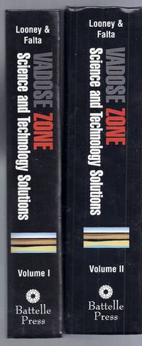 Vadose Zone Science and Technology Solutions. Volumes I & II (2 Volume Set)