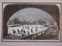 The Thames frozen over at Richmond.