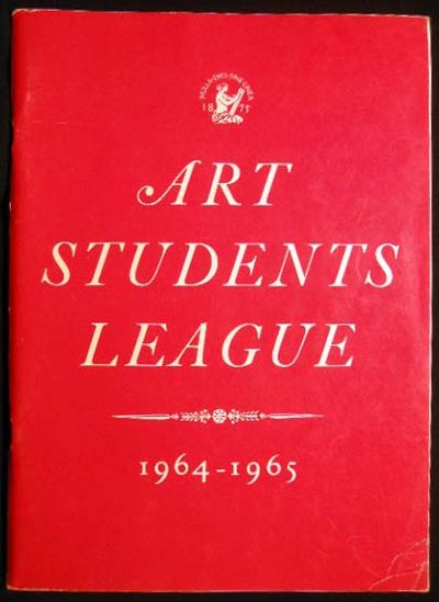 New York, N.Y.: The Art Students League of New York, 1964. 92 pages; a black and white illustrated c...