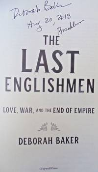 The Last Englishmen (SIGNED, DATED, BROOKLYN)