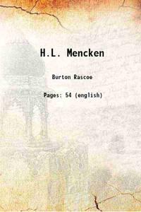 H.L. Mencken 1920 [Hardcover]