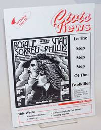 Civic Views: KC\'s open-minded publication for the 90\'s; vol. 1, #5, July 23, 1993; Foolkiller Show with Utah Phillips