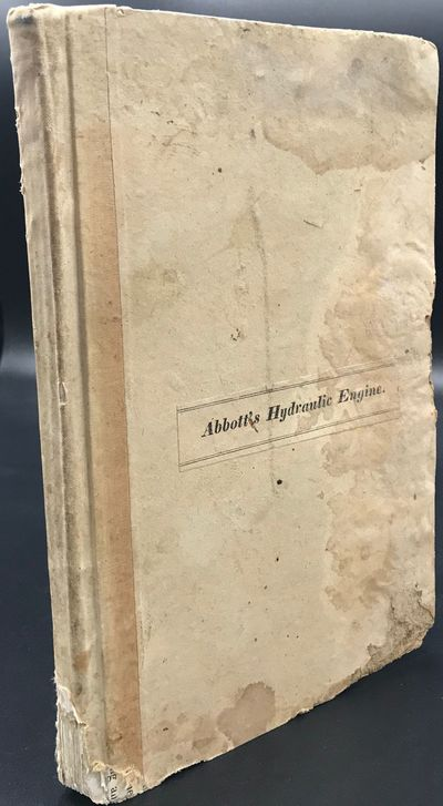 Boston, : S. Rowland Hart, Printer, 1835. First edition. 8vo. 132pp., 7 plates (2 folding). Index an...