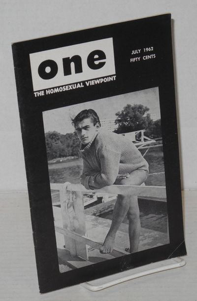 Los Angeles: One, Inc, 1962. Magazine. 32p., including covers, 5.5x8.5 inches, very good digest size...