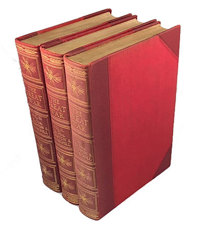 London: George Newnes Limited , 1934. First edition. Hardcover. Near Fine. Large 8vo. 3 volumes, con...