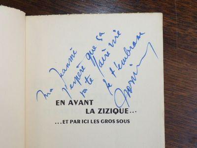 En avant la zizique EDITION ORIGINALE ENVOI AUTOGRAPHE Paris  Le livre  contemporain, 1958. Fine. Le livre contemporain, Paris 1958, 12x19cm,  broché. 7860a5cdf4a