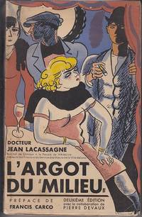 """image of L'Argot Du """"Milieu""""  [Middle Slang]"""