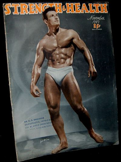 York, PA: Strength and Health Publishing Co, 1949. Soft Cover. Very Good binding. 1940's body-buildi...
