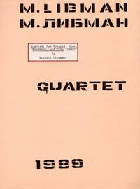 image of Quartet for Trumpet, Horn, Trombone, and Tuba (1989) [FULL SCORE ONLY]