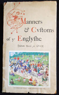 image of Manners & Customs of ye Englishe; Drawn from ye Quick by Richard Doyle with Extracts from Mr. Pips His Diary by Percival Leigh