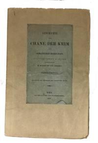 Geschichte der Chane der Krim unter Osmanischer Herrschaft aus Turkischen quellen Zusammengetragen, mit Zugabe Schahingerai's
