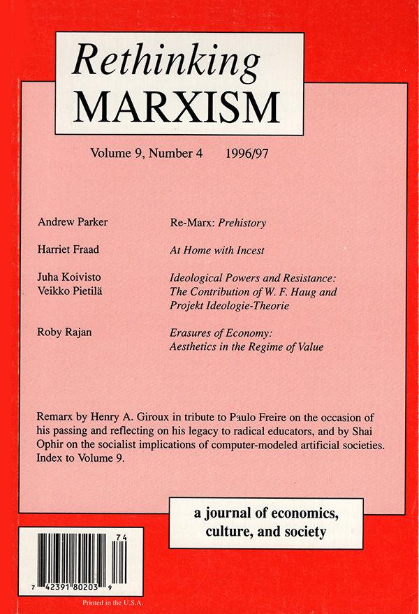 Rethinking Marxism