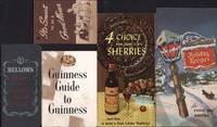 Five liquor advertisements: Bellows, Guinness, Holland House, National Distillers, Widmer's Wine.