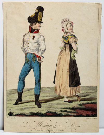 Finart, Noël-Dieudonné (b Condé 1797 - d Paris 1852) . L'Allemande à Deux/ou le hongrois à Pari...