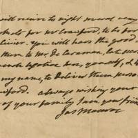 The Letter of Transit For the Instructions to the American Delegation Negotiating the Treaty of Ghent The Secretary of State notifies the American Ambassador in Paris that the US would be dropping the insistence on including impressment.