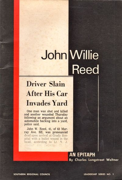 Atlanta: Southern Regional Council, 1969. First Edition. Soft cover. Very good. Soft cover. 40 pages...
