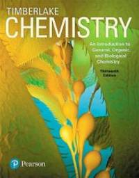 image of Chemistry: An Introduction to General, Organic, and Biological Chemistry Plus MasteringChemistry with Pearson eText -- Access Card Package (13th Edition)