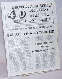 4-D. Vol. 1 no. 2 (Sept. 1977)