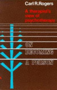 image of On Becoming a Person: a therapist's view of psychotherapy