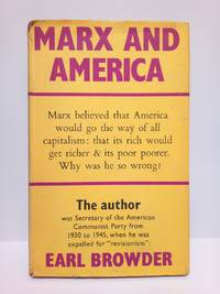 image of Marx and América: A study of the doctrine of impoverishment