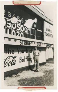 image of Archive of advertising and photographs for a custom mechanical scoreboard firm in Miami, Florida, circa 1940s