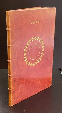 Credo : Presentation Copy Signed By The Author