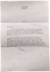 Group of 25 typed letters from Cheever to his daughter, 1960-1976
