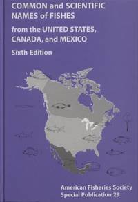 image of Common and Scientific Names of Fishes from the United States, Canada, and Mexico, Sixth Edition