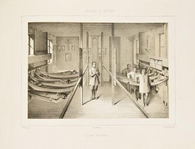 : Imprimerie de Lemercier, 1850. Oblong folio. (11 x 15 3/4 inches). Lithographed title and 20 litho...